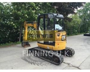 Caterpillar 302.7D CAB Crawler Excavator