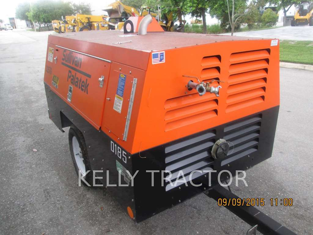 2014 sullivan d185p dz air compressor for sale 213 hours miami fl