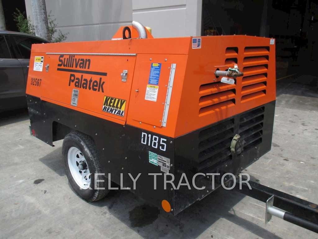 2014 sullivan d185p dz air compressor for sale 741 hours miami fl