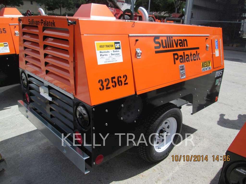 2014 sullivan d185p dz air compressor for sale 144 hours miami fl