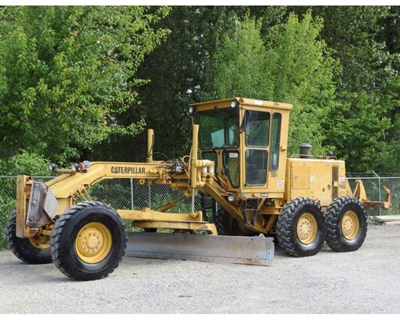 1994 Caterpillar 140g Motor Grader For Sale Savannah Ga