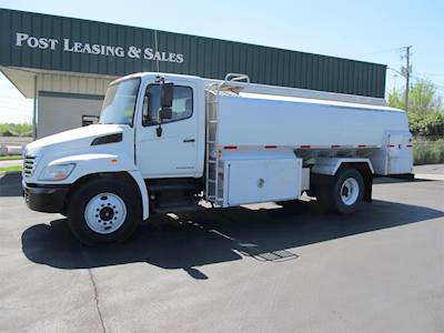 2008 Hino 338 Fuel & Lube Truck For Sale, 136,171 Miles