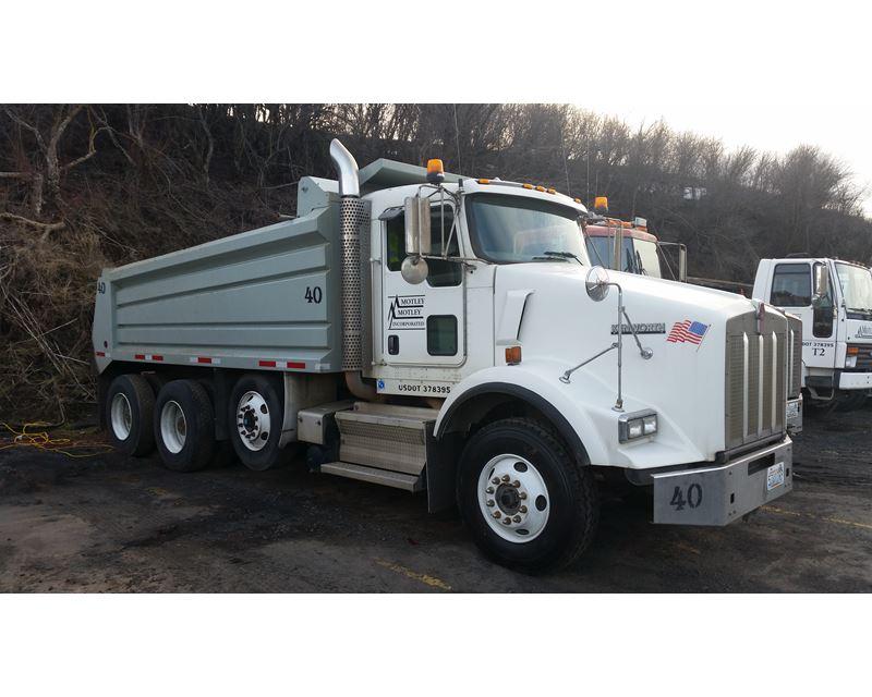 2009 Kenworth T800 Dump Truck For Sale, 10,096 Hours ...Kenworth Dump Trucks For Sale