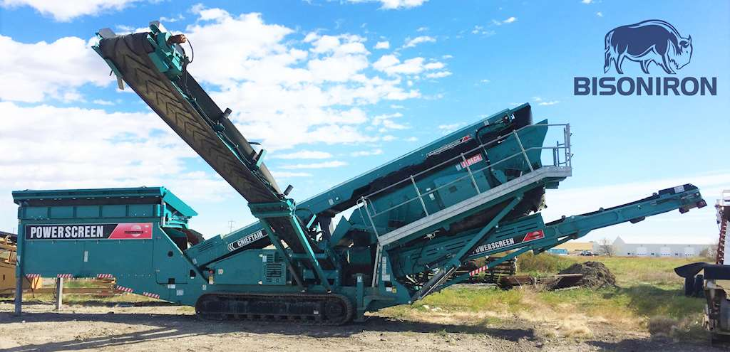 2011 Powerscreen Chieftain 1700 Tracked Screening Plant For Sale, 4,200  Hours | Strathmore, AB | 9210917 | MyLittleSalesman com