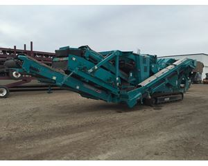 Powerscreen XH320SR / 320SR / TRAKPACTOR Crushing Plant