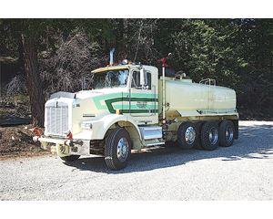 Kenworth T800B Water Truck