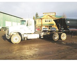 Mack GU713 Cab & Chassis Truck