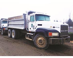 Mack CL713 Dump Truck