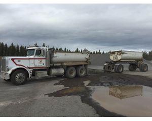 Peterbilt 359 Transfer Dump Truck