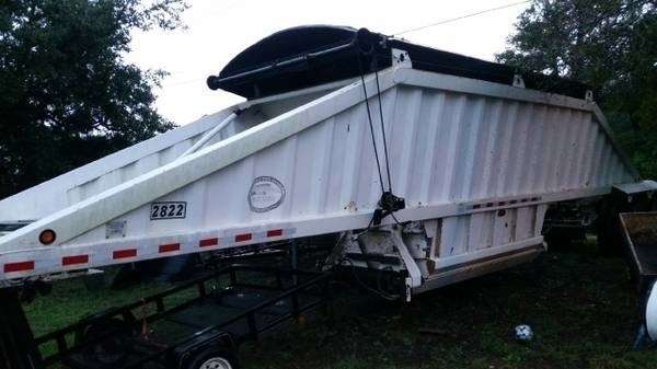 dump Cts trailer bottom