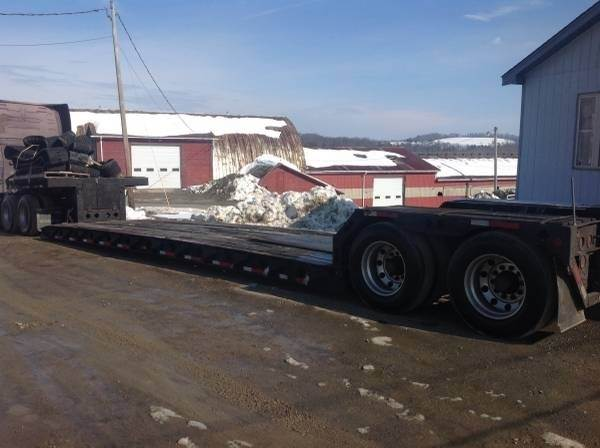 1995 Fontaine 48x102 Double Drop Deck Trailer Rgn Closed Axle For