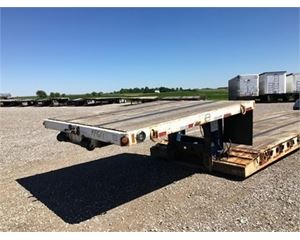 Fontaine Double Drop Deck Trailer 48x102, Closed Axle, RGN, 35 Ton