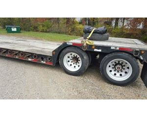 Fontaine RGN Double Drop Deck Trailer 48x102, Closed Axle
