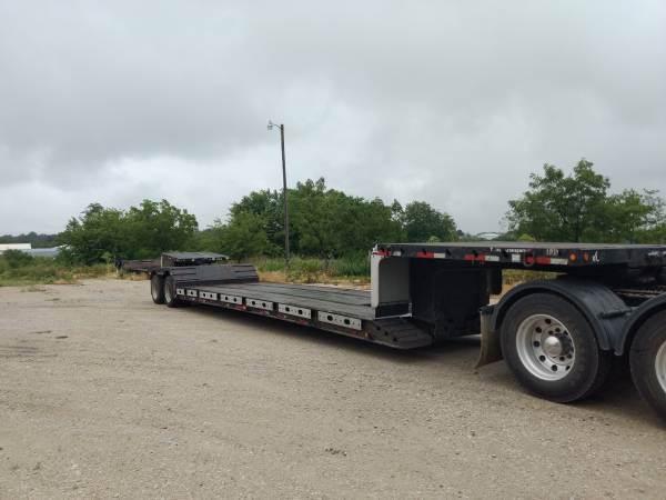 2008 Xl Specialized 48x102 Double Drop Trailer Mechanical Detach