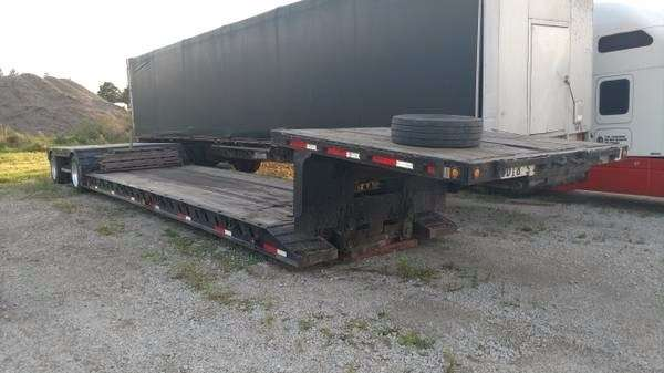 2001 Xl Specialized 48x102 Double Drop Deck Trailer Rgn For Sale