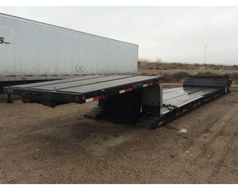 Double Drop Trailer : New ton rgn double drop trailers autos post