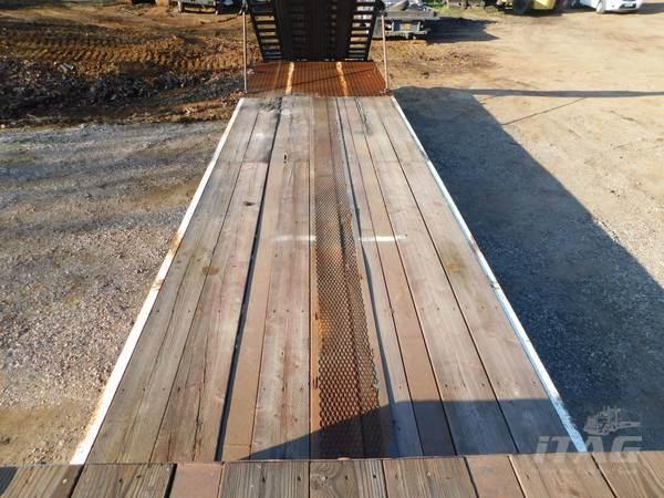 1982 Aztec 40x96 Drop Deck Trailer - Wood Floor, Hydraulic ...