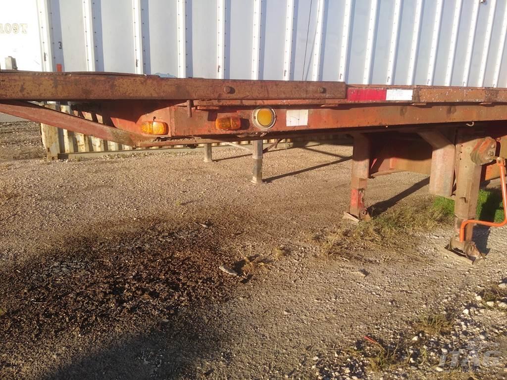 Aztec 48x96 Drop Deck Trailer - Wood Floor, Winches For ...