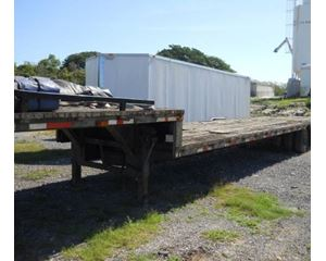 Cherokee Drop Deck Trailer 48x102, Spread Axle