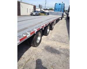East Drop Deck Trailer 53x102, Aluminum, Tri Axle