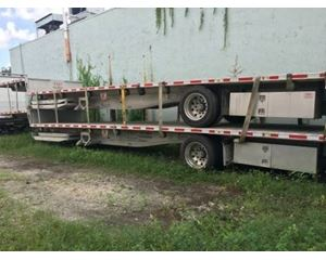 Fontaine Revolution Drop Deck Trailer 48x102, Combo, Spread Axle