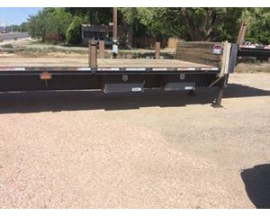 Fontaine Velocity Drop Deck Trailer 48x102, Spread Axle
