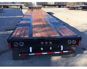 Fruehauf Drop Deck Trailer 53x102, Sliding Rear Axle, Ramps, Load Levelers