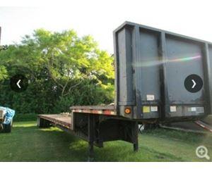 Great Dane Drop Deck Trailer 48x102, Closed Axle