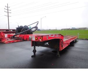 Landoll 410-B Drop Deck Trailer 50x102, Tri Axle