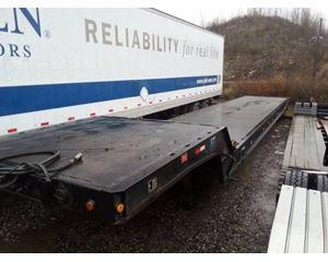 Landoll Drop Deck Trailer 53x102, Closed Axle, 17.5 Tires