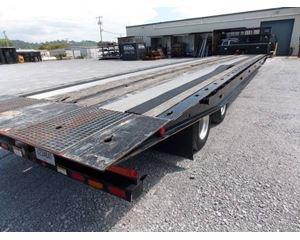 Landoll Drop Deck Trailer 50x102, Closed Axle, 17.5 Tires