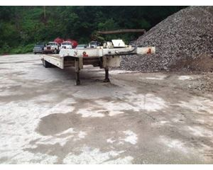 Landoll Drop Deck Trailer 48x102, Closed Axle, Hydraulic, 17.5 Tires