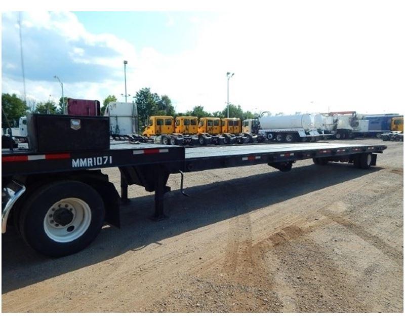 Single Axle Trailer Specs : Landoll drop deck trailer single axle