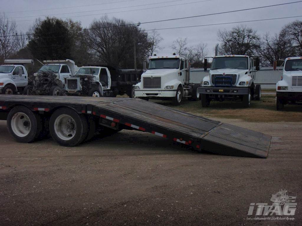 1998 Ledwell 48x102 Drop Deck Trailer For Sale Fort