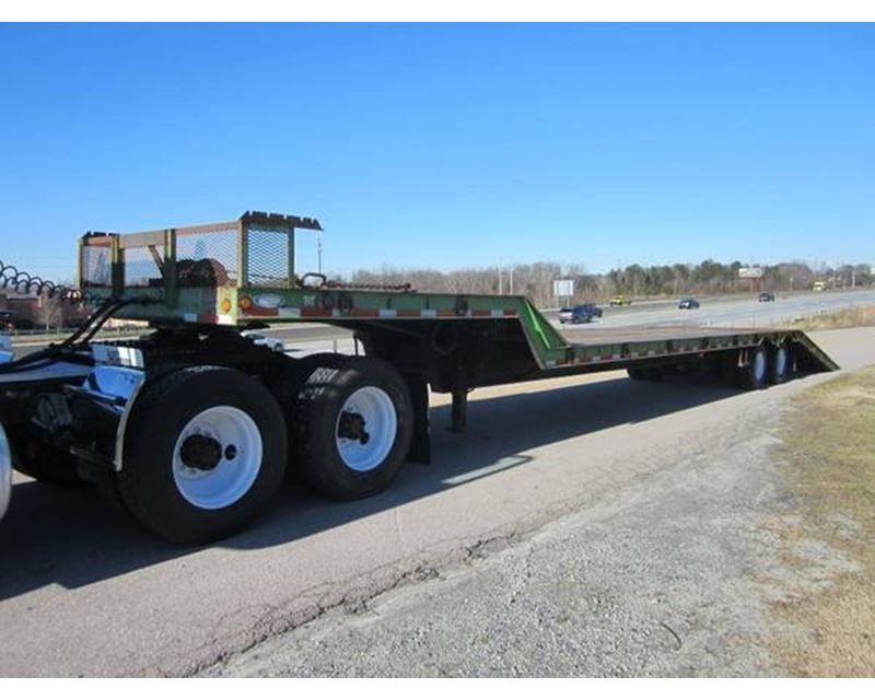 Hydraulic Drop Deck Trailers : Ledwell drop deck trailer closed axle