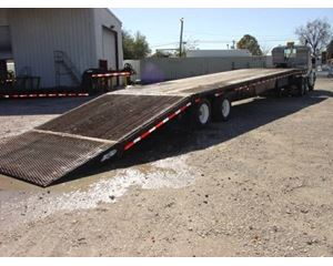 Ledwell Drop Deck Trailer 48x102, Combo, Closed Axle, Hydraulic