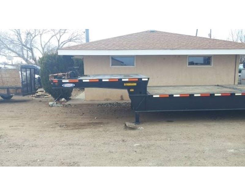 Hydraulic Drop Deck Trailer Blueprint : Ledwell drop deck trailer cosed axle