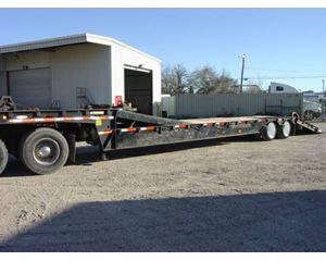 Ledwell Drop Deck Trailer 48x102, Closed Axle, Hydraulic