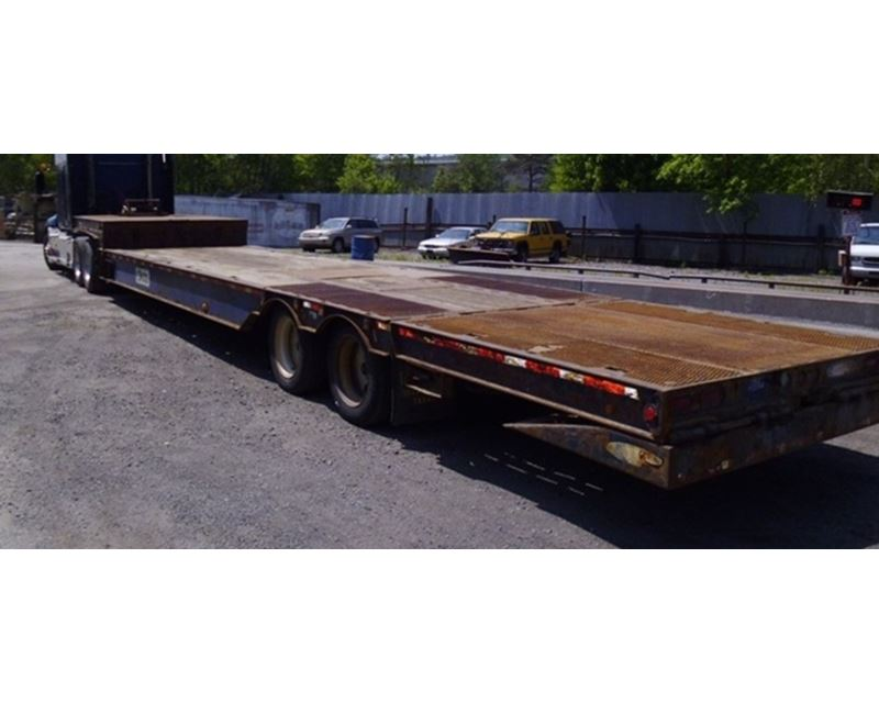 Hydraulic Drop Deck Trailers : Ledwell drop deck trailer hydraulic tail for