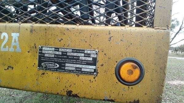 1999 Ledwell Drop Deck Trailer 48x102 Tri Axle Hydraulic