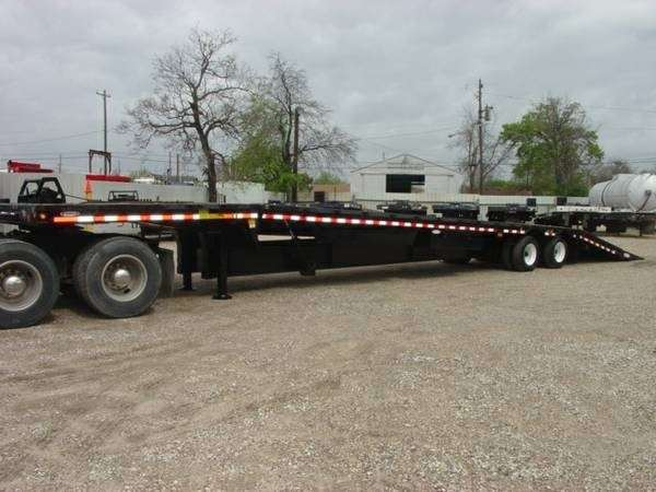 2011 Ledwell Drop Deck Trailer 48x102 Closed Axle
