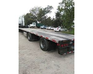 Lufkin Drop Deck Trailer 53x102, Combo, Spread Axle