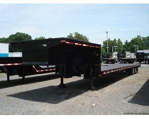 McElrath Drop Deck Trailer 50x102, Closed Axle, Electric Brakes