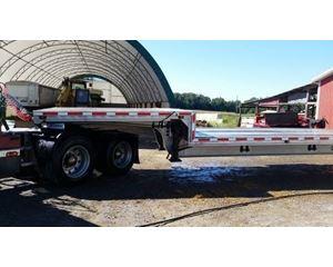 Ravens Drop Deck Trailer 48x102, All Aluminum, Spread Axle