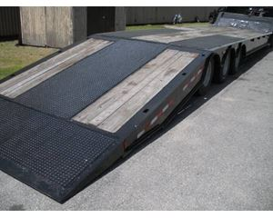 Trail King Drop Deck Trailer 48x102, Tri Axle, Hydraulic Dovetail