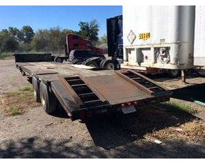 Trailmobile Drop Deck Trailer 42x96, Closed Axle, Beavertail, Ramps