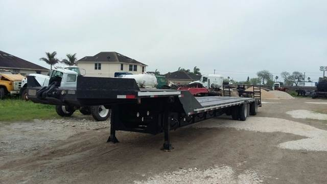 1990 Transcraft 53x102 Beaver Tail Ramp Trailer For Sale