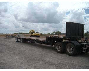 Transcraft Drop Deck Trailer 48x102, Spread Axle