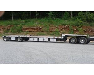 Transcraft Drop Deck Trailer 48x102, Combo, Spread Axle