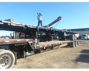 Transcraft Drop Deck Trailer 53x102, Tri Axle